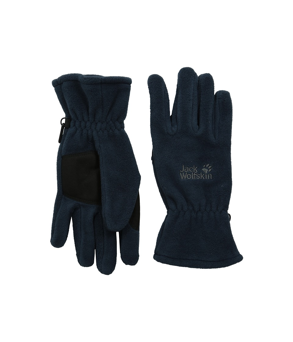 Jack Wolfskin Artist Glove (Night Blue) Extreme Cold Weather Gloves