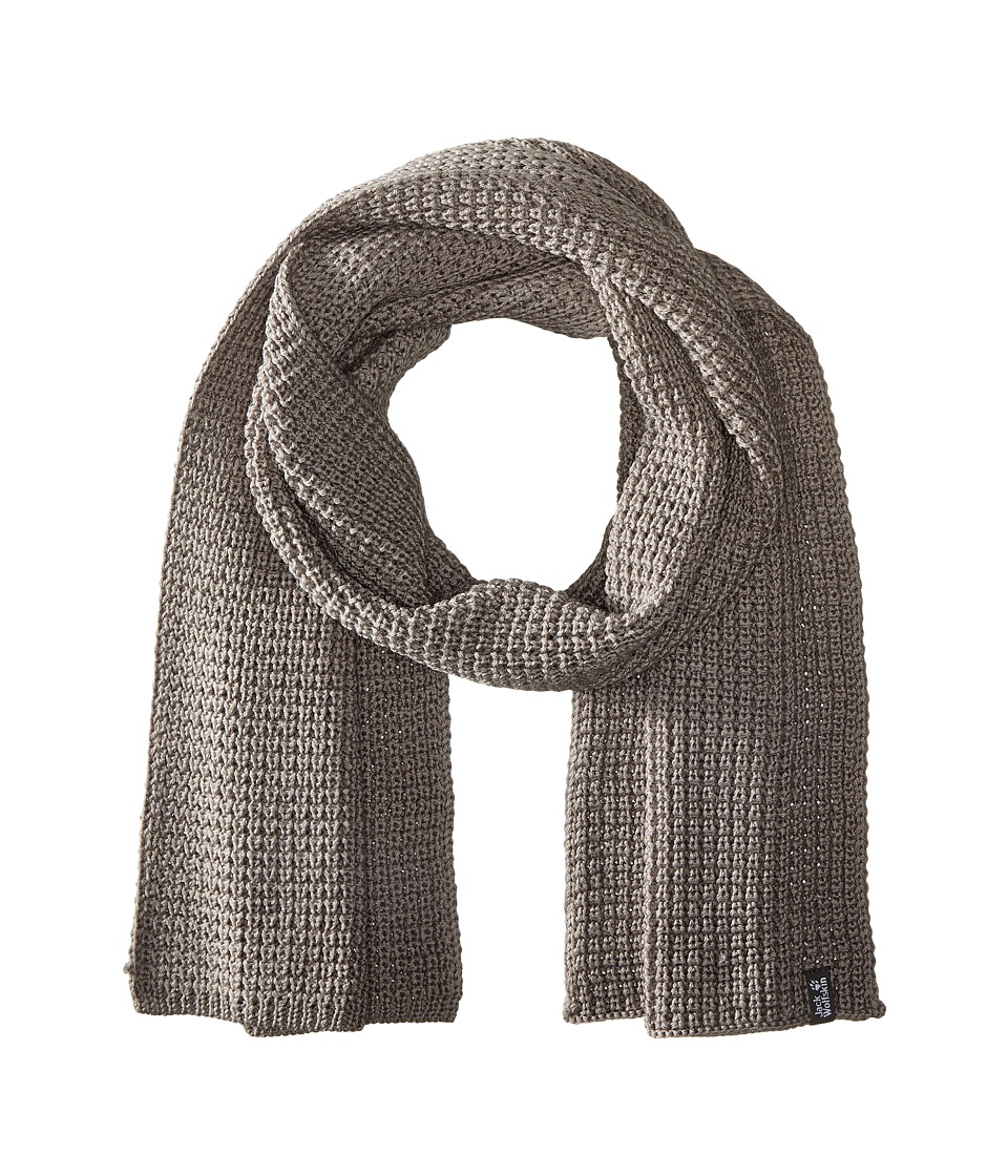Jack Wolfskin - Milton Scarf (Grey Heather) Scarves