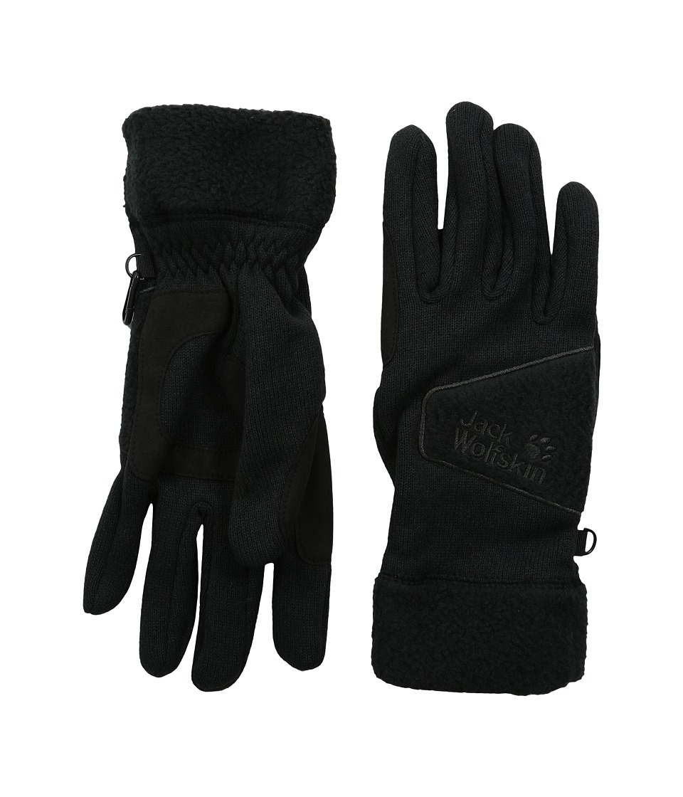 Jack Wolfskin Caribou Glove (Black) Extreme Cold Weather Gloves