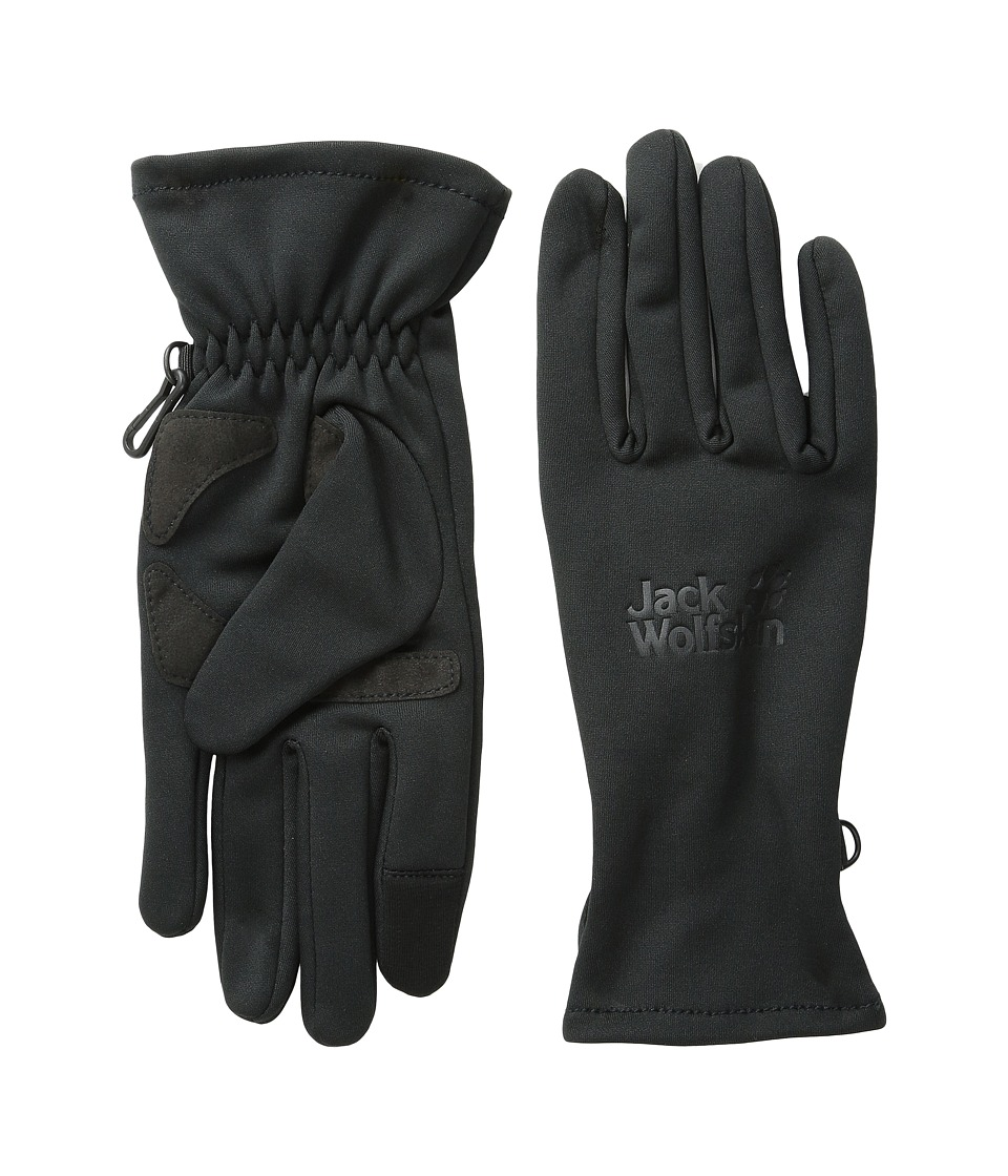 Jack Wolfskin Dynamic Touch Glove (Black) Extreme Cold Weather Gloves