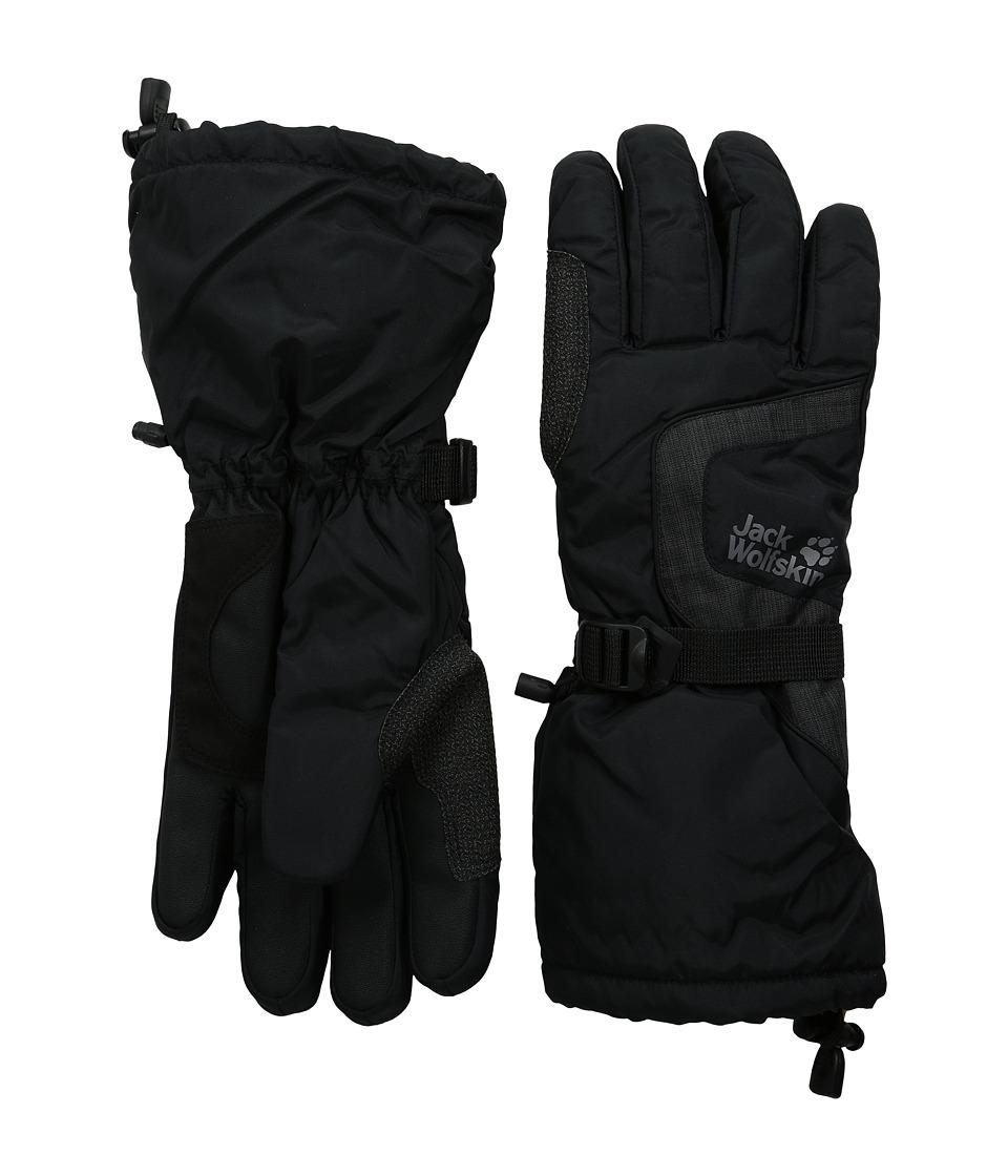 Jack Wolfskin Texapore Winter Glove (Black) Extreme Cold Weather Gloves