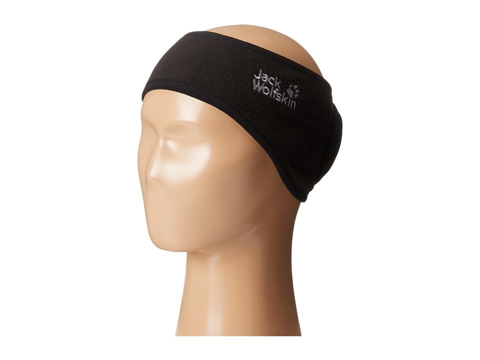 Jack Wolfskin - Stormlock Headband (Black) Headband