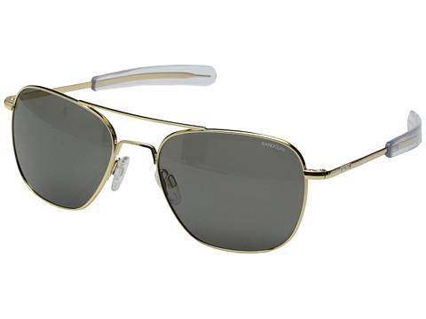 Randolph Aviator 58mm - 23K Gold/Gray Glass