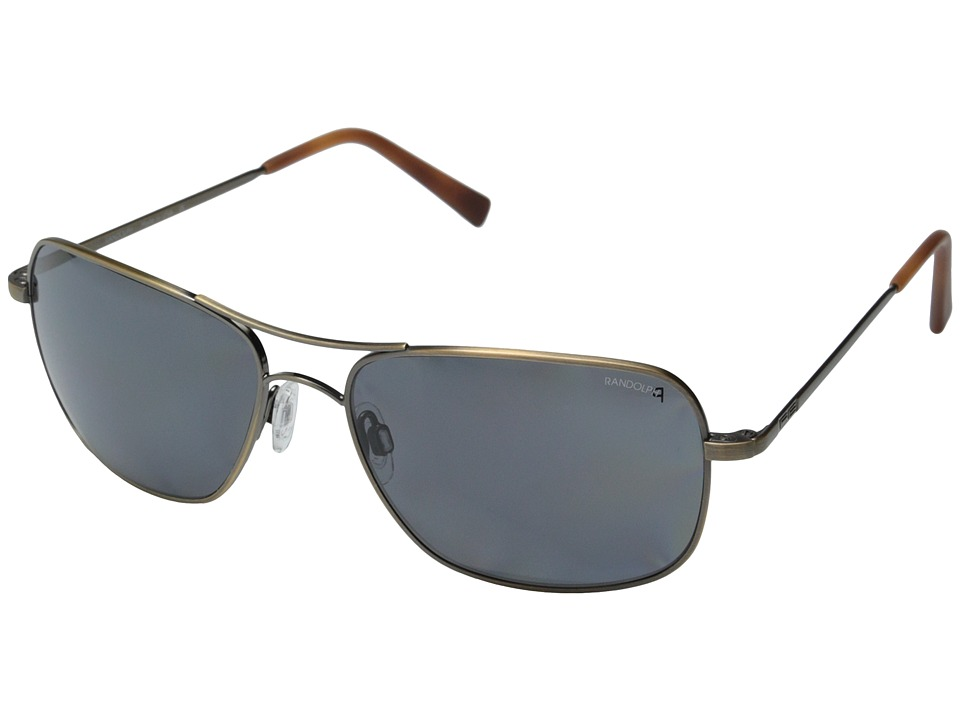 Randolph - Archer 59mm Polarized (Bronze Oxide/Gray Polarized PC) Fashion Sunglasses