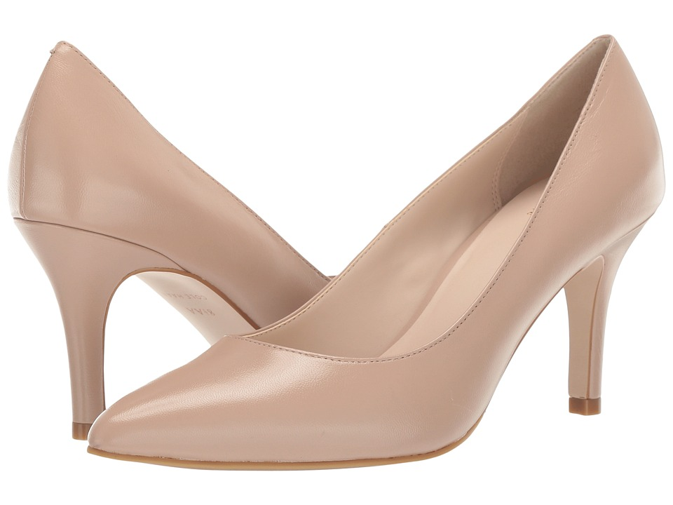 Cole Haan Juliana Pump 75mm (Maple Sugar Leather) High Heels