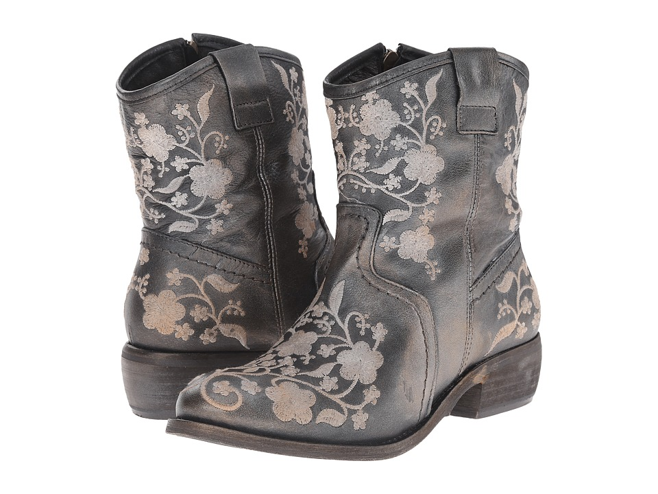 taos Footwear Privilege Pewter Cowboy Boots