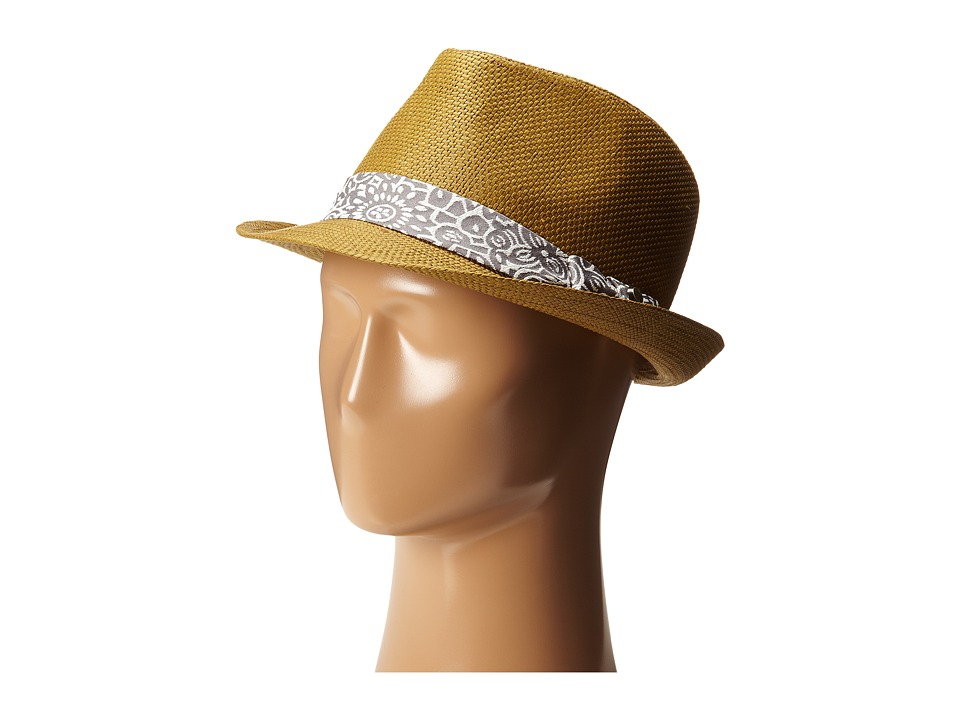 Ted Baker Denord Woven Band Trilby Natural Fedora Hats