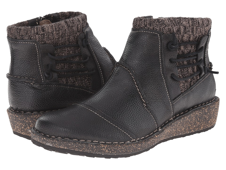 Aetrex Sundance Tessa Black Womens Boots