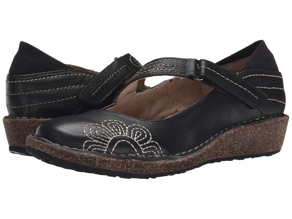 Aetrex Sundance Talia Black Womens Maryjane Shoes