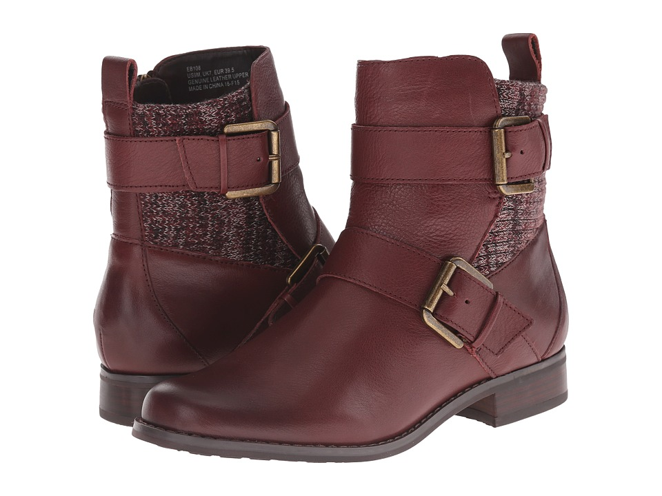 Aetrex Essence Kara Burgundy Womens Boots