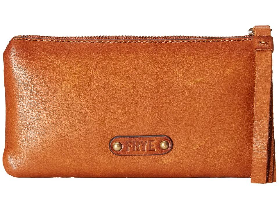 Frye - Heidi Wallet (Whiskey Soft Vintage Leather) Wallet Handbags