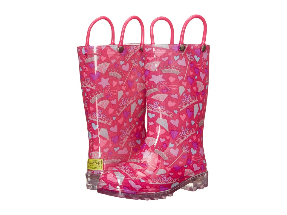 Western Chief Kids Lovely Princess Rainboots Toddler/Little Kid Pink Girls Shoes