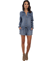 Free People - Chambray Drapey Shortall