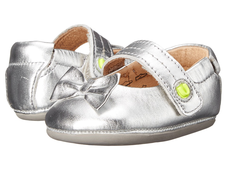 Umi Kids Fey Infant/Toddler Silver Kids Shoes