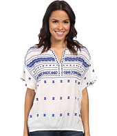 Lucky Brand - Boho Embroidered Top
