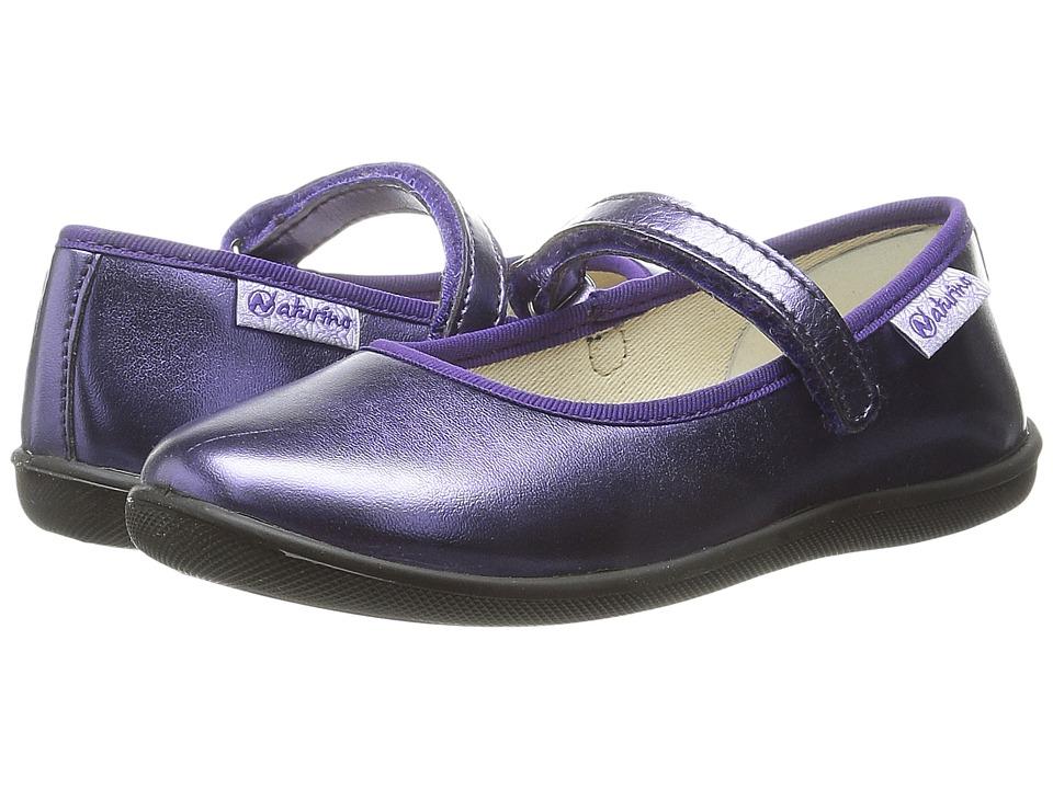 Naturino Nat. 7944 Toddler/Little Kid/Big Kid Purple Girls Shoes
