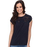 Lucky Brand - Applique Yoke Top
