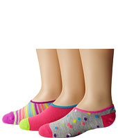 Stride Rite - Molly 9-Pack Confetti Dot Low Show w/ Silicone Heel Grip (Toddler/Little Kid/Big Kid)