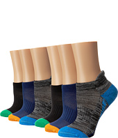Stride Rite - Max Made 2 Play 6-Pack Stripe Seamless, Tab Welt, Half Cushion & Arch Support No Show (Infant/Toddler/Little Kid/Big Kid)