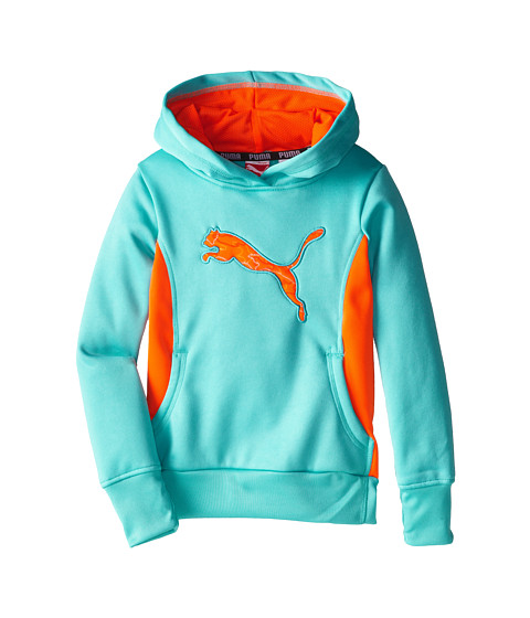 Puma Kids Cat Hoodie with Thumb Hole (Little Kids) Faster ...