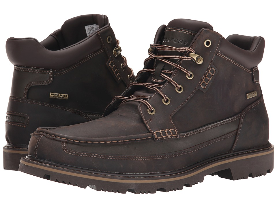 Rockport - Gentlemens Boot Moc Mid Waterproof (Brown) Mens Waterproof Boots