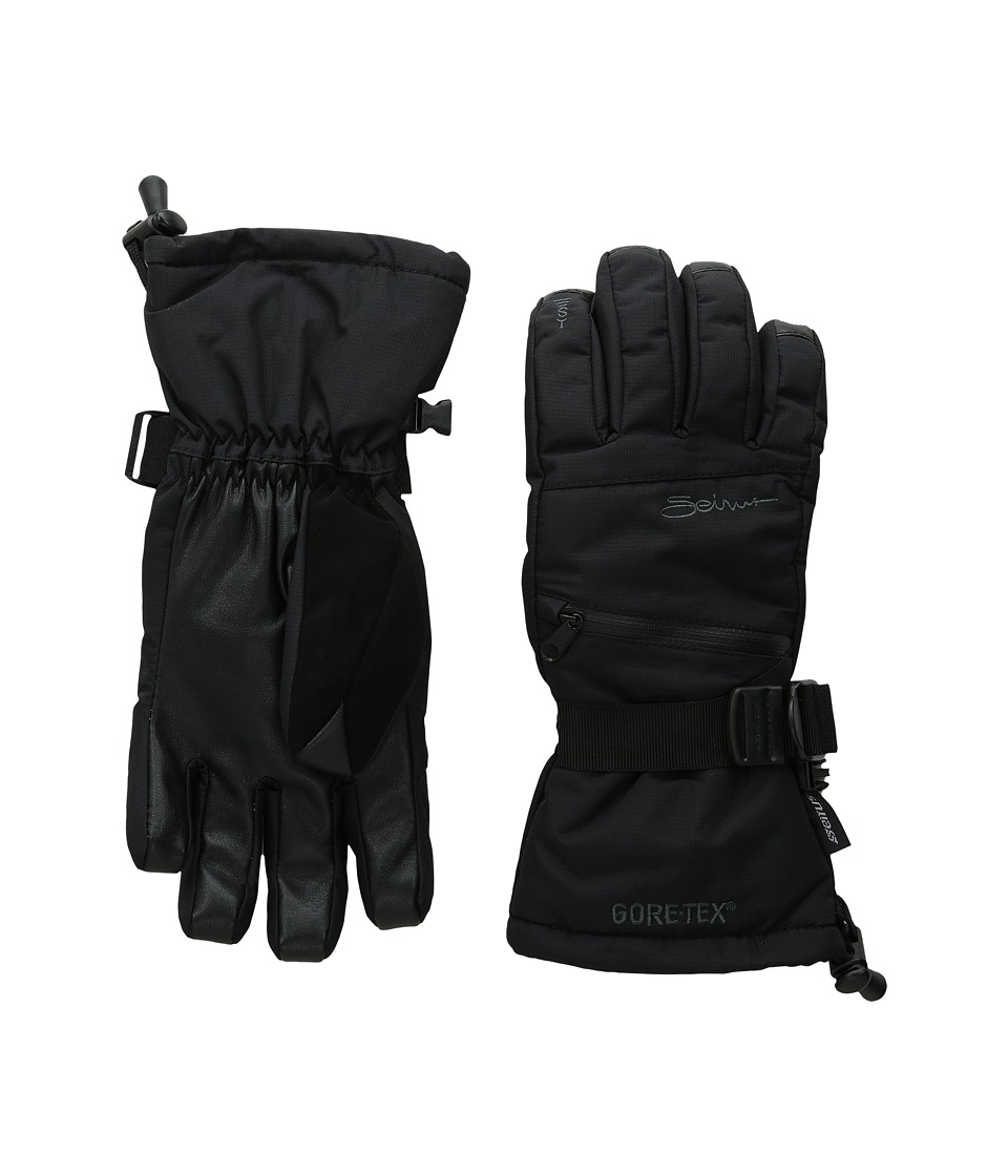 Seirus Gore-Tex Soundtouch Prism Glove (Black) Ski Gloves