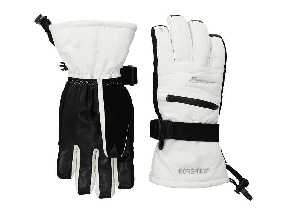 Seirus Gore Tex Soundtouch Prism Glove White Ski Gloves