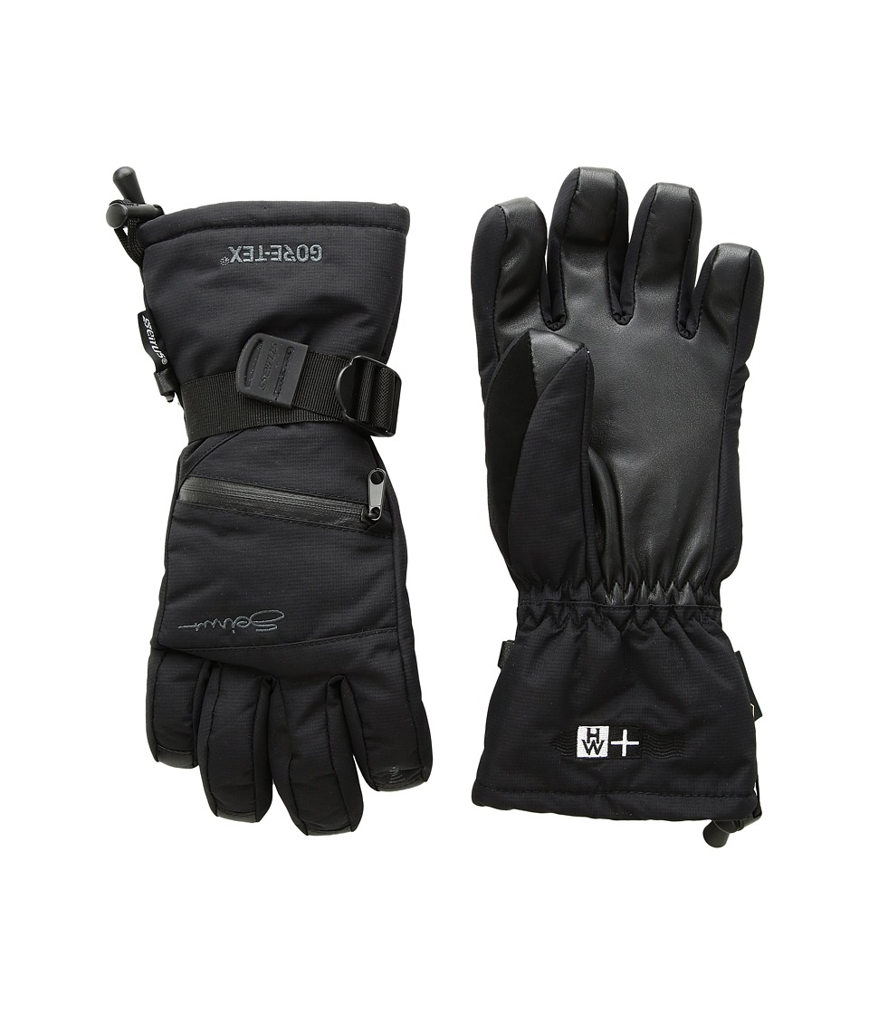 Seirus Heatwave Gore-Tex(r) Plus Gleam Glove (Black) Ski Gloves