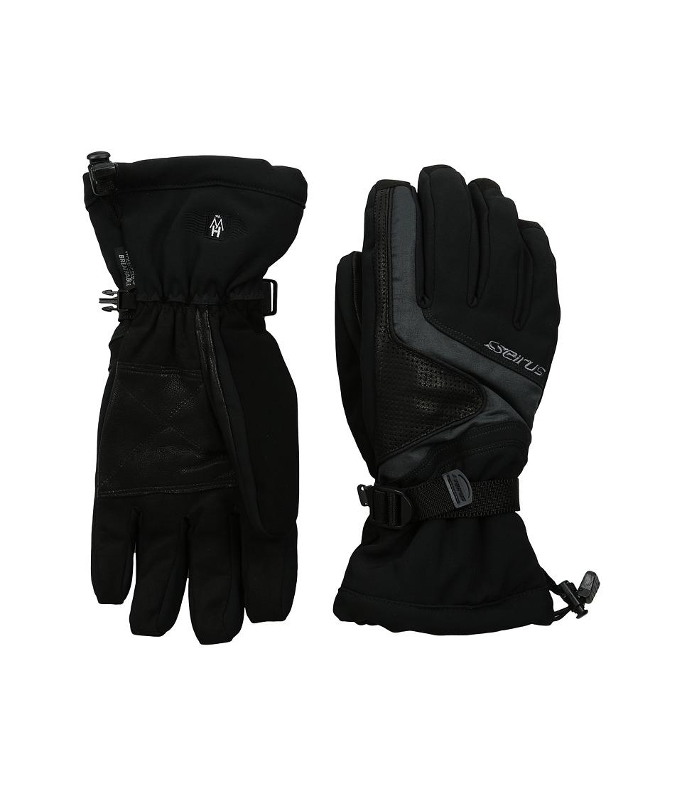 Seirus Heatwave Plus Shine Glove Black Ski Gloves