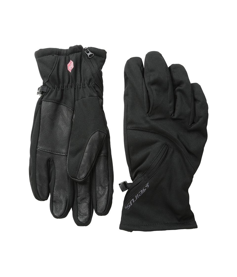 Seirus Cyclone Glove Black Ski Gloves