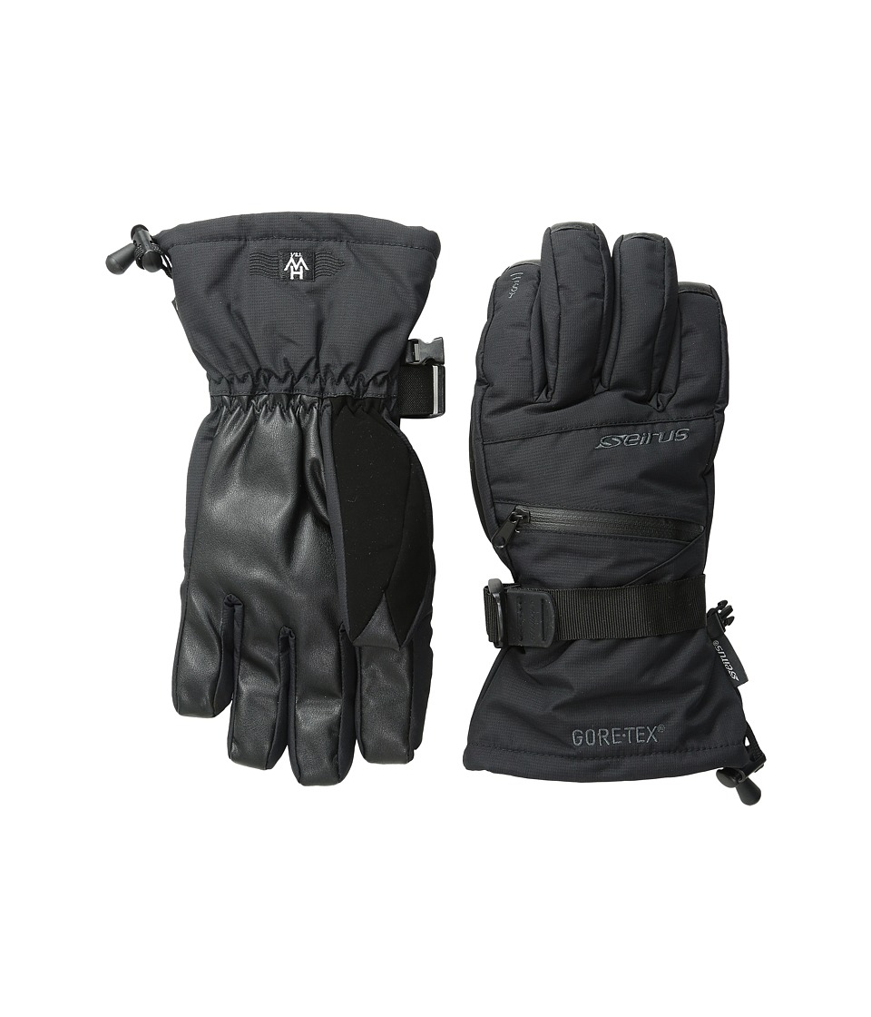 Seirus Heatwave Gore-Tex Plus Gleam Glove (Black) Ski Gloves