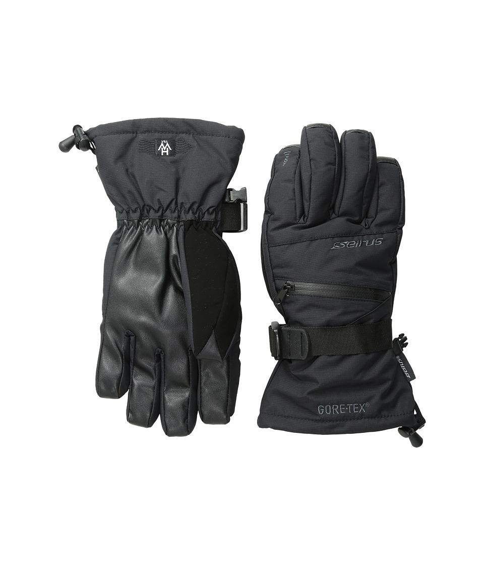 Seirus Heatwave Gore-Tex Plus Gleam Glove (Black) Ski Gloves