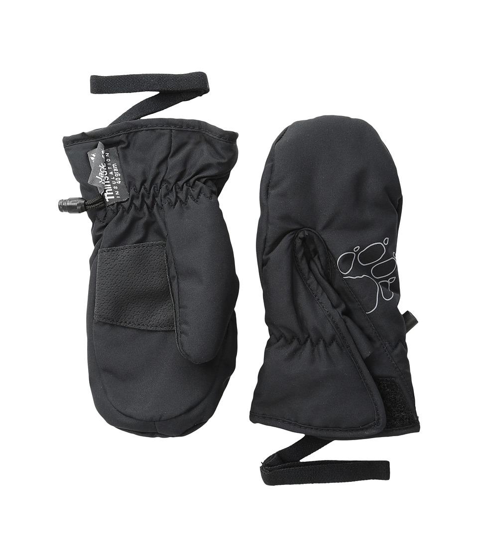 Jack Wolfskin Easy Entry Mitten (Toddler/Little Kid) (Black) Extreme Cold Weather Gloves