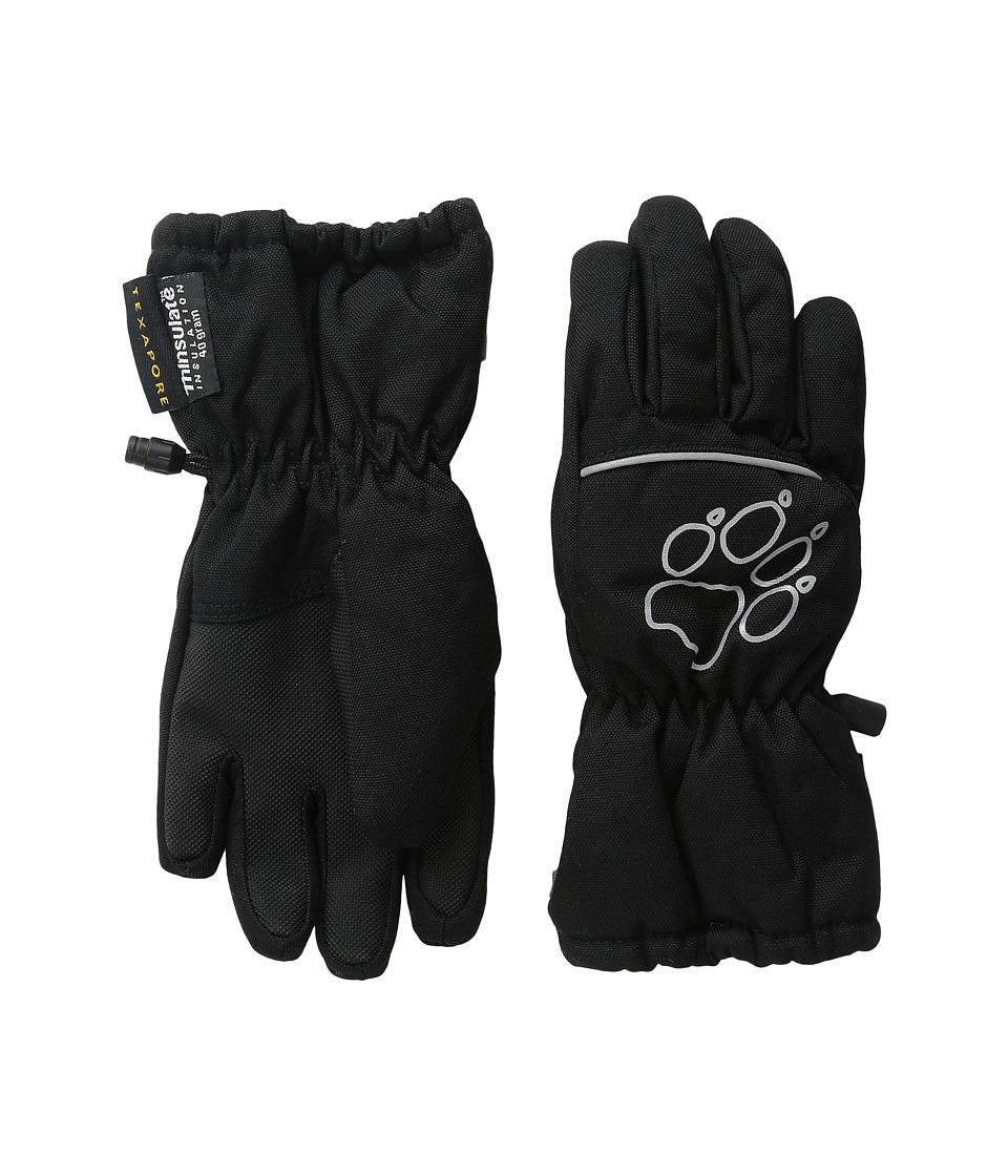 Jack Wolfskin Texapore Glove (Little Kid/Big Kid) (Black) Extreme Cold Weather Gloves