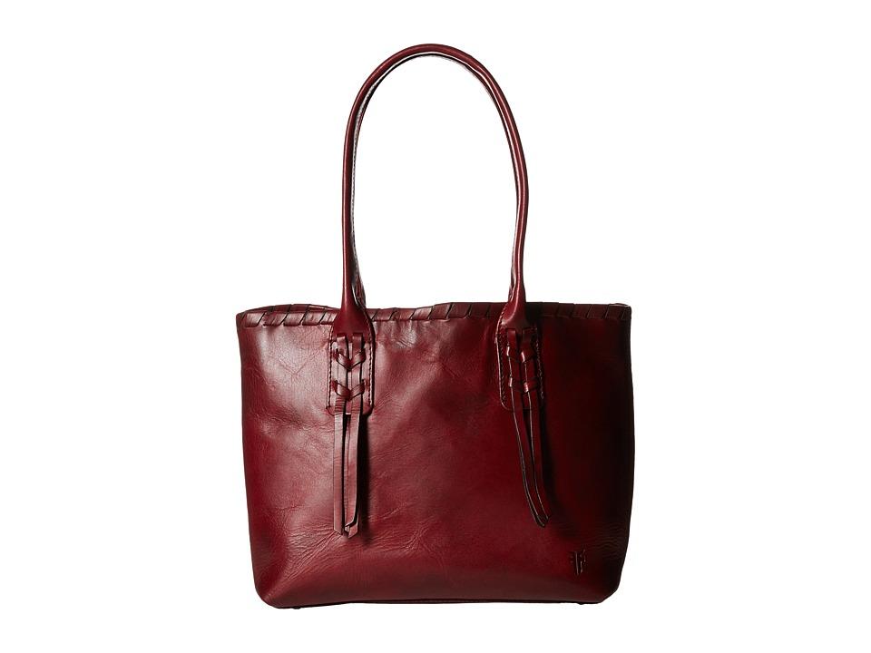 Frye - Layla Concho Shopper (Bordeaux Smooth Full Grain) Tote Handbags