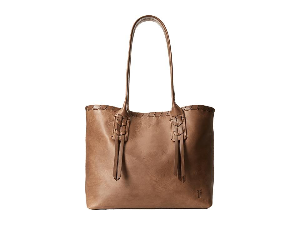 Frye - Layla Concho Shopper (Charcoal Smooth Full Grain) Tote Handbags