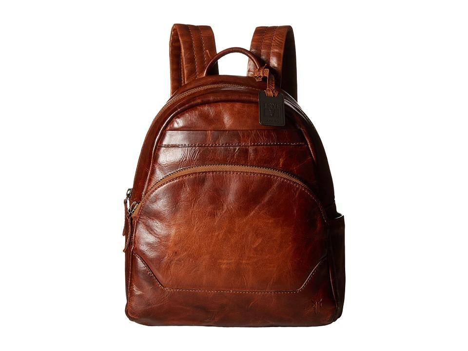 Frye - Melissa Backpack (Cognac Antique Pull Up) Backpack Bags