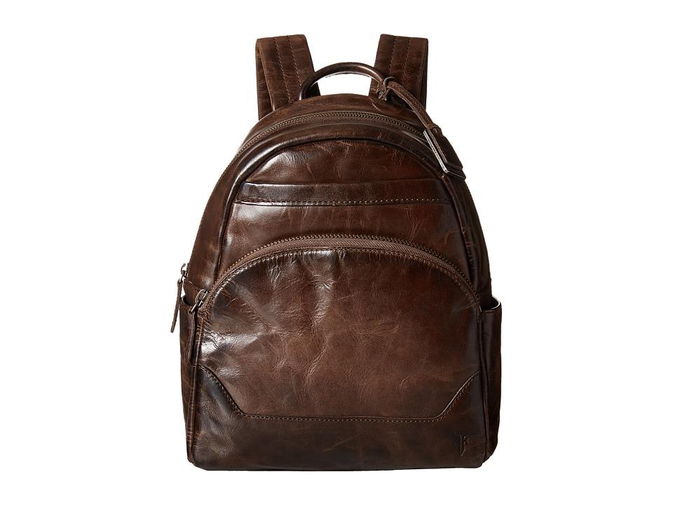 Frye - Melissa Backpack (Slate Antique Pull Up) Backpack Bags