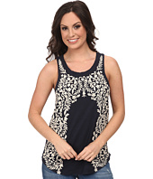 Lucky Brand - Floral Embroidered Tank Top