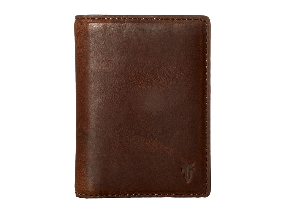 Frye - David Bi-Fold (Whiskey Smooth Pull Up) Bi-fold Wallet