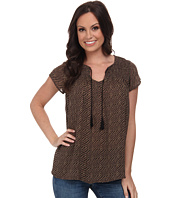 Lucky Brand - Ditsy Diamond Top