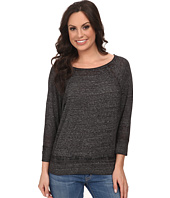 Lucky Brand - Solid Burnout Top
