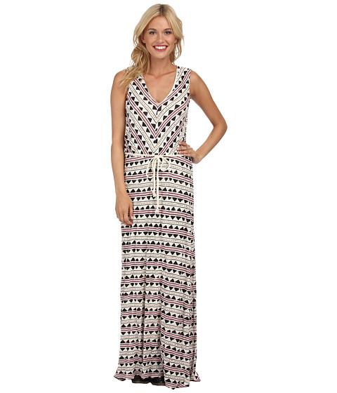 Lucky Brand Tribal Maxi Dress - 6pm.com