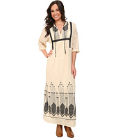 Lucky Brand - Embroidered Maxi Dress