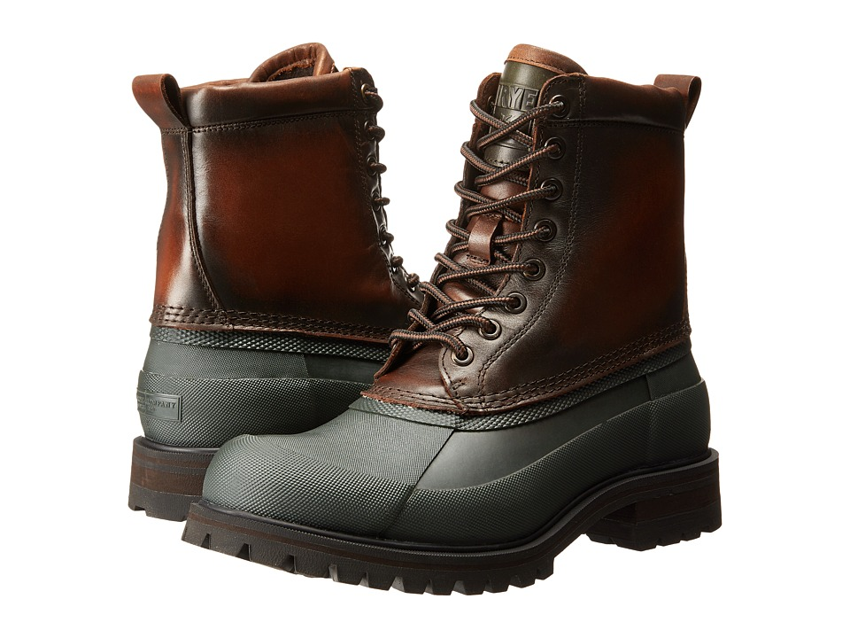 Frye Alaska Lace Up (Forest Multi WP Smooth Pull Up) Men