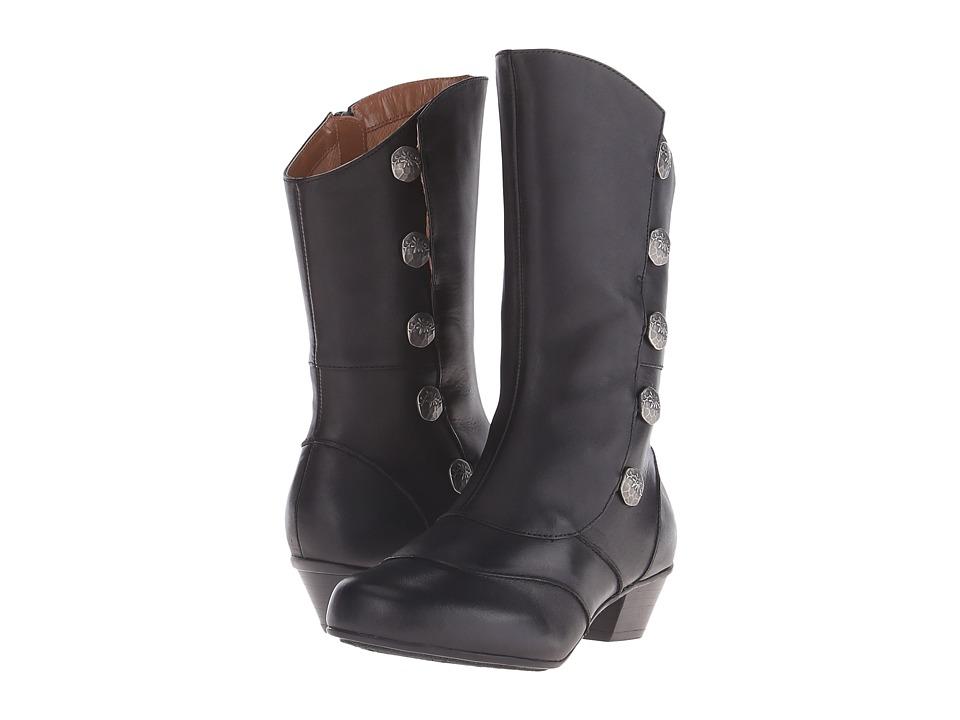 Aetrex Essence Naomi Black Womens Zip Boots