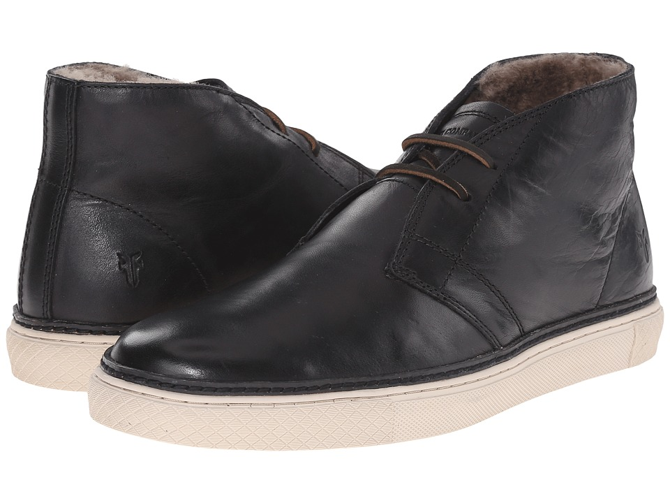 Frye - Gates Chukka (Black Antique Pull Up) Men