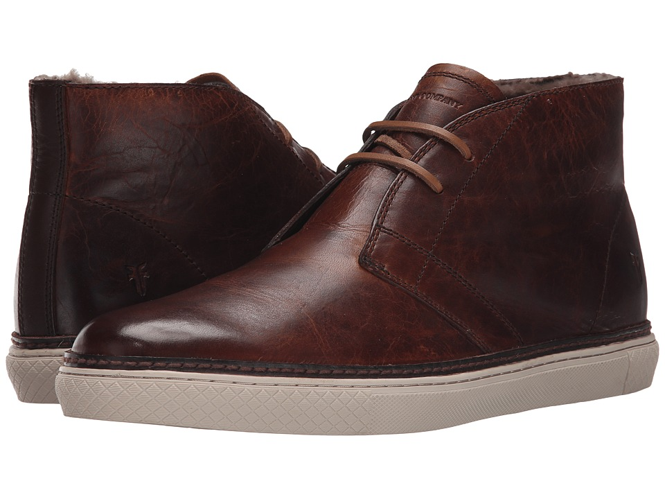 Frye - Gates Chukka (Cognac Antique Pull Up) Men