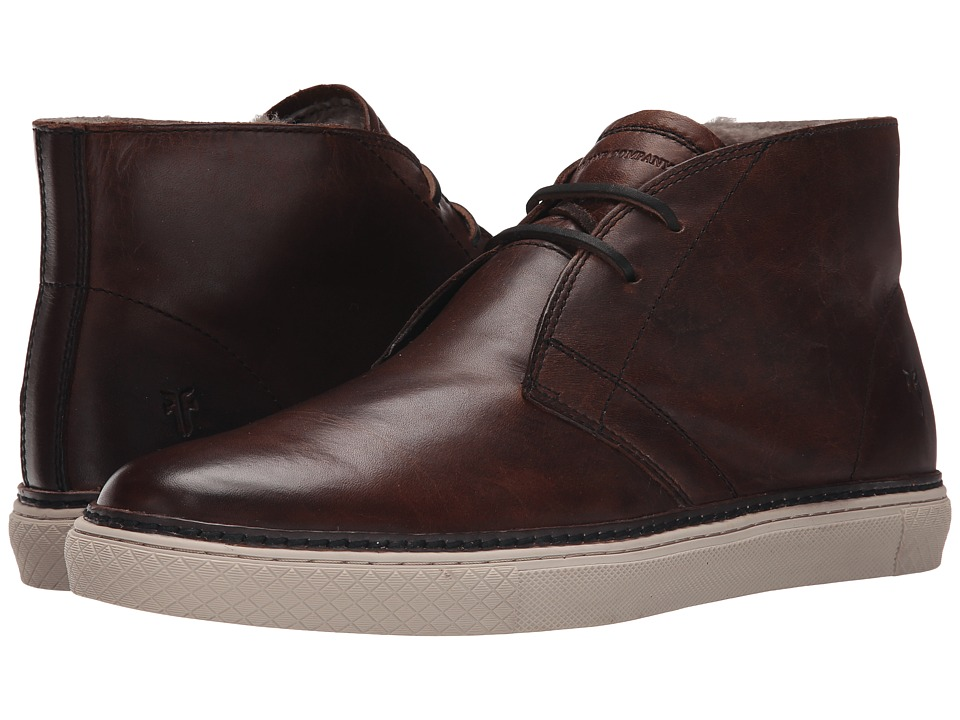 Frye - Gates Chukka (Dark Brown Antique Pull Up) Men