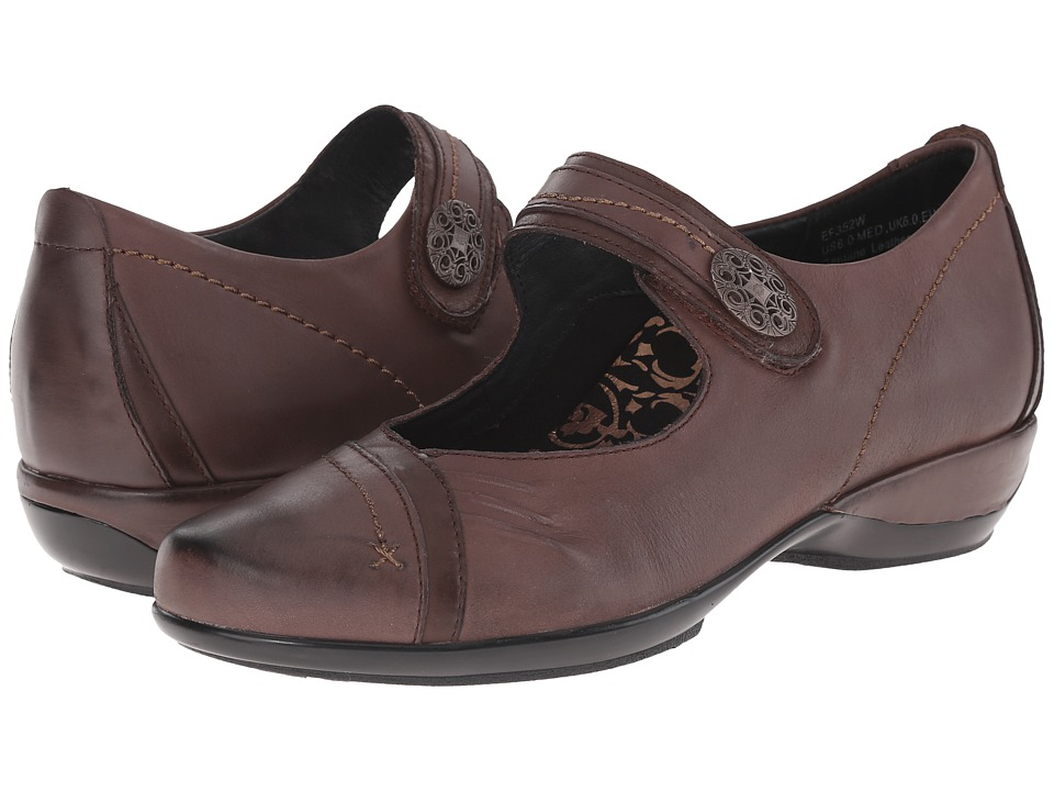 Aetrex Brianna Mary Jane Java Womens Maryjane Shoes